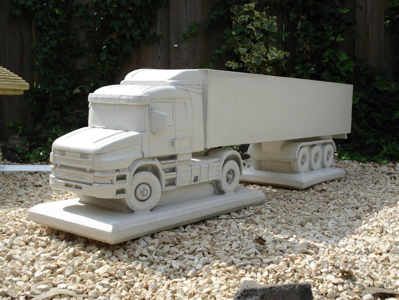 scania r lkw kipper blumenkasten faszination aus beton. Black Bedroom Furniture Sets. Home Design Ideas